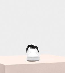 Clarita Nappa Sneaker White & Black