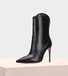 Esther Boot 100 Roman Leather Black