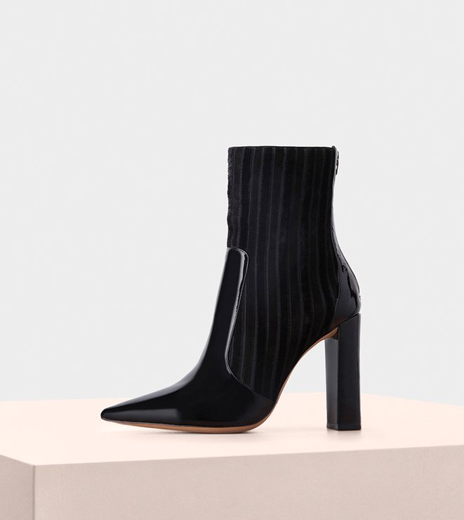 Michella Boot 100 Suede Black