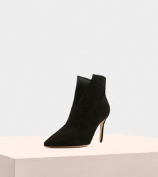 Megan Boot 85 Suede Black