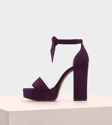 Celine Suede Wine Berry