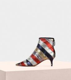 Ankle Boot 50 Watersnake Metal