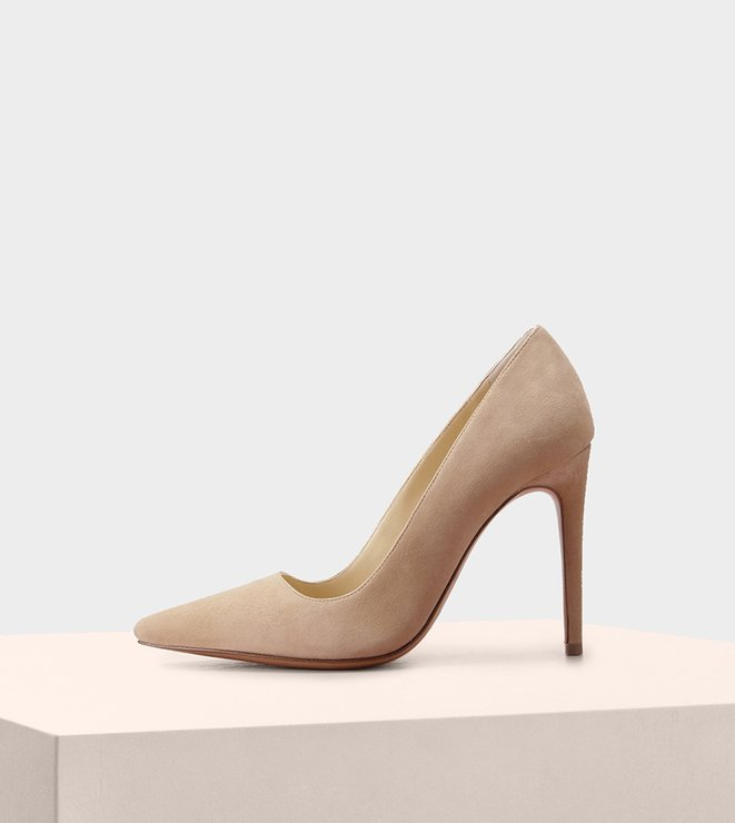 New Halle 100 Suede Nude