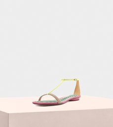 Lally Flat Suede