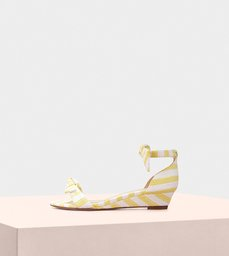 Clarita  Demi Wedge 35 Fabric Sunflower