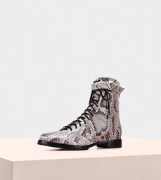 Evelyn Combat Boot Python
