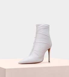 Susana Boot 100 Nappa White