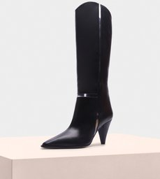 Dora Boot 90 Baby Calf Black