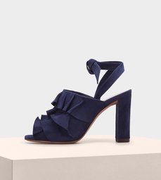 Barbara 90 Suede Night Shade