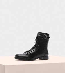 Evelyn Combat Boot Exotic