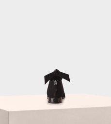 TORY FLAT SUEDE BLACK