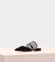 Shadow Flat Suede Black