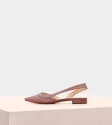 Wavee Flat Suede Dust Blush